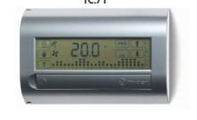 Термостаты с таймером Finder