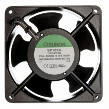 AC Вентиляторы 120X25MM 115VAC Sunon