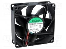 DC Вентиляторы  80X25MM 24VDC Sunon