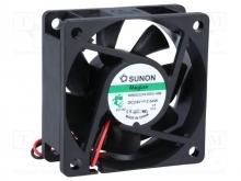 DC Вентиляторы 60X60X25MM 24VDC Sunon