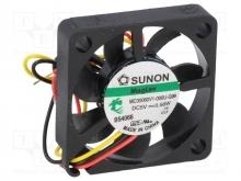 DC Вентиляторы 40X56MM 12VDC Sunon