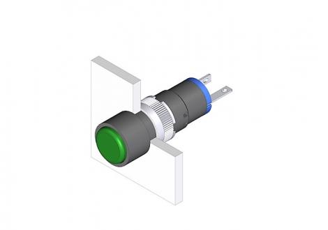18-030.0054L Индикатор 8 mm  EAO