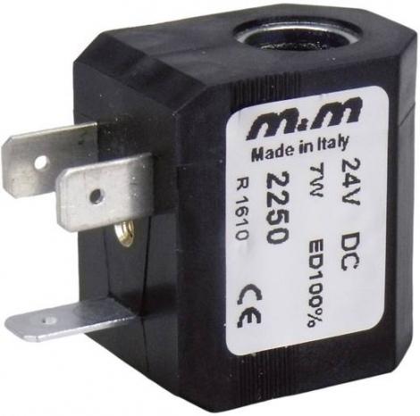 2250 | M&M International | Катушка 24 V/DC (max)
