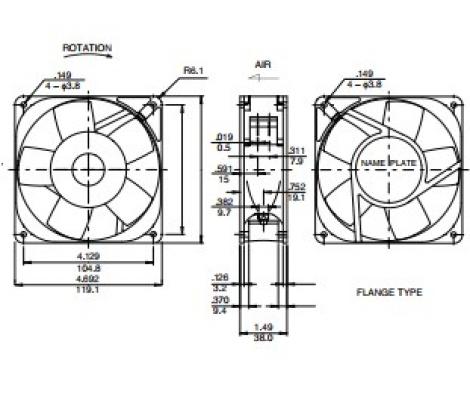 4715FS-23T-B5A | NMB | Вентилятор