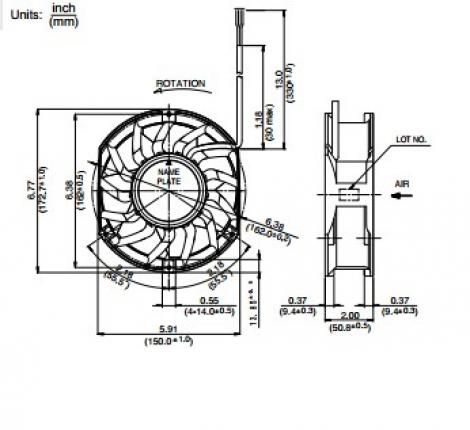 5920FT-D5W-B60   NMB   осевой вентилятор