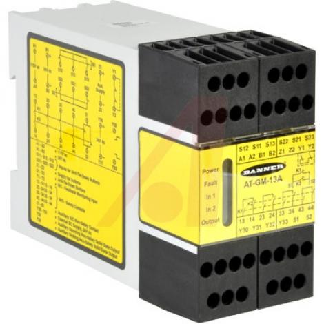 AT-GM-13A Автомат защиты, 115VAC; 24VDC; 4 N.O.