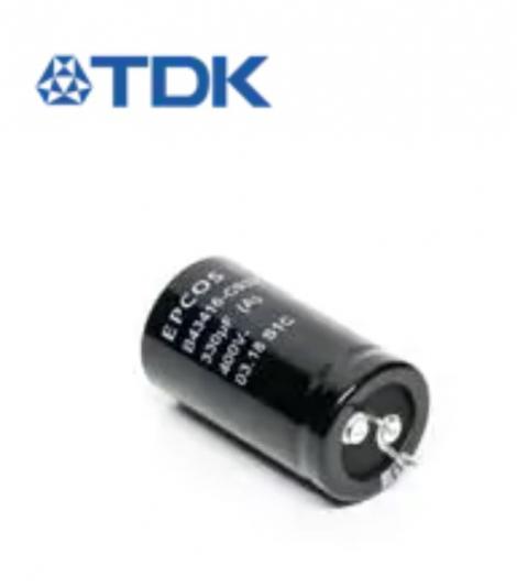 B43416A9118A000 | EPCOS | Алюминиевые электролитические конденсаторы с жесткими выводами