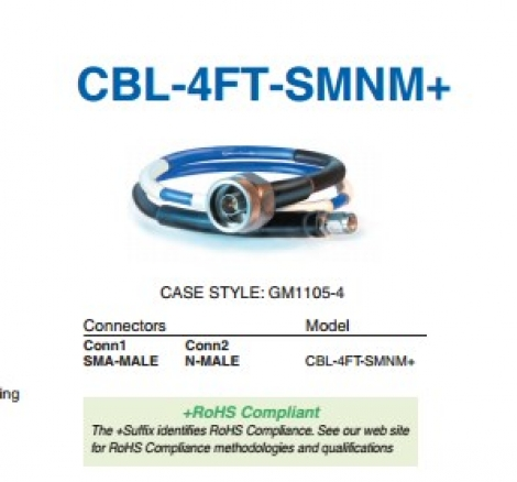 CBL-4FT-SMNM+ Кабель