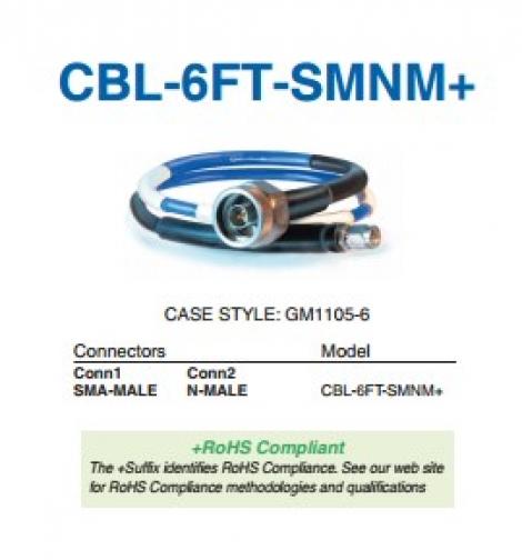 CBL-6FT-SMNM+ Кабель