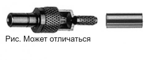J01190A0011   Telegartner   Обжим с прямым штекером SSMB