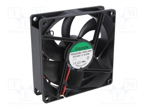 PE92254B1-000U-A99 DC Вентилятор 92X25MM 48VDC