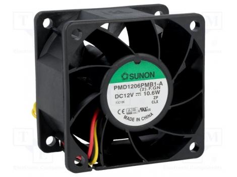 PMD1206PMB3-A (2).GN.IP55 DC Вентилятор 60X38MM 12VDC