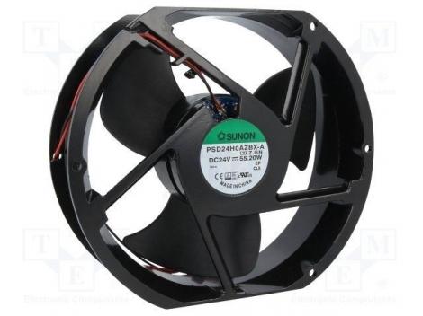 PSD24H0AZBX-A (2).Z.GN.IP55 DC Вентилятор 170X51MM 24VDC