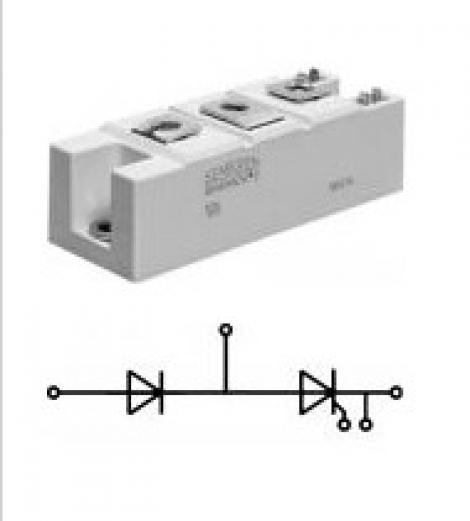 SKKH162/22EH4 Тиристорный модуль SKKH