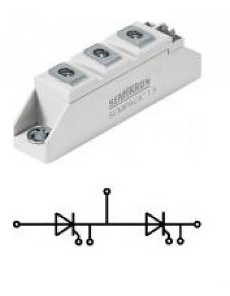 SKKT 106/16E | Semikron | Тиристорный модуль SKKT