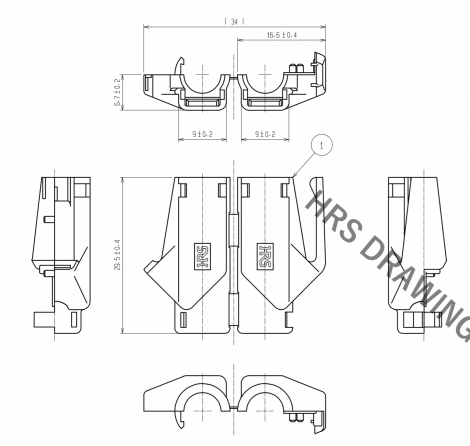 TM21P-88P(11) | Hirose Connector | Разъем