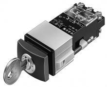 02-199.011 Кнопка c ключом блокировки 24 x 36 mm EAO