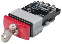 03-199.011 Выключатель с блокировкой 24 x 48 mm EAO