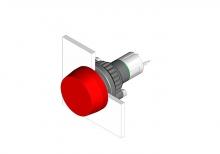 14-031.006 Кнопка индикатор 22.5 - 30.5 mm  EAO