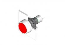 14-041.006 Кнопка индикатор 22.5 - 30.5 mm  EAO