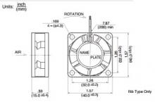 1606KL-05W-B39 Осевые вентиляторы DC размером 40мм NMB
