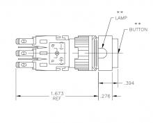 164SL33   TE Connectivity   Кнопочный переключатель