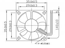 16003354A | Comair Rotron | Вентиляторы постоянного тока Comair Rotron
