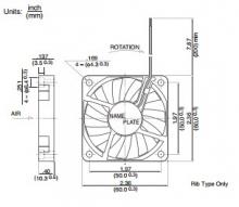 2406GL-04W-B39 | NMB Вентилятор