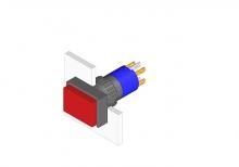 31-121.022 Кнопка с подсветкой 16 mm  EAO