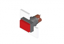 31-121.0252 Кнопка с подсветкой 16 mm  EAO