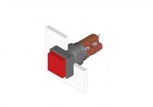 31-152.0252 Кнопка с подсветкой 16 mm  EAO