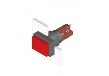 31-262.0252 Кнопка с подсветкой 16 mm  EAO