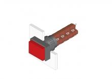 31-264.0252 Кнопка с подсветкой 16 mm  EAO