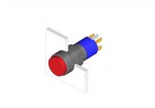 31-271.022 Кнопка с подсветкой 16 mm  EAO