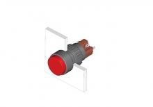 31-271.0252 Кнопка с подсветкой 16 mm  EAO