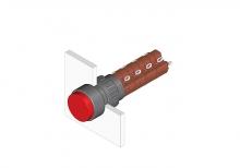 31-274.0252 Кнопка с подсветкой 16 mm  EAO