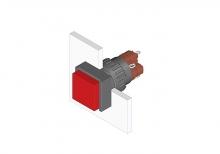 31-281.0252 Кнопка с подсветкой 16 mm  EAO