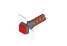 31-284.0252 Кнопка с подсветкой 16 mm  EAO