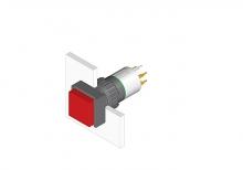 31-452.036 Кнопка с подсветкой 16 mm  EAO
