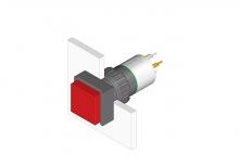 31-455.036 Кнопка с подсветкой 16 mm  EAO