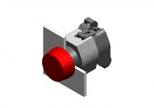 704.001.4 Кнопка индикатор 22.5 - 30.5 mm  EAO