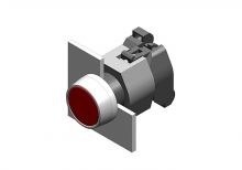 704.002.6 Кнопка индикатор 22.5 - 30.5 mm  EAO