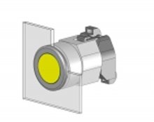704.006.718 Кнопка индикатор 22.5 - 30.5 mm  EAO