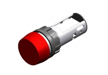 704.020.2 Кнопка индикатор 22.5 - 30.5 mm  EAO