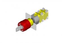 704.066.2 Аварийный выключатель 22.5 - 30.5 mm  EAO