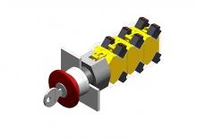 704.076.0 Выключатель 22.5 - 30.5 mm  EAO