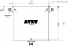 D3C0102N | DiTom Microwave | Циркуляторы RF