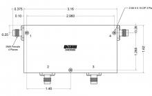 D4C0112 | DiTom Microwave | Двойные циркуляторы RF