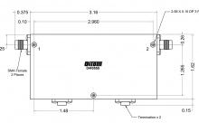 D4I0112 | DiTom Microwave | Двойные соединительные изоляторы