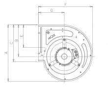 DDE 10/10 1F 0 10V - 0,550 кВт | Nicotra Gebhardt | Вентилятор